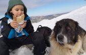 FOTO Doznali smo tko je mali junak s Viševice: Noela nisu mogli zaustaviti snijeg, minusi i zapusi