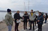 FOTO/VIDEO Živi zid protiv gradnje luke Perčin