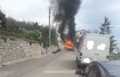 Izgorio Citroen u Gornjem kraju u Crikvenici