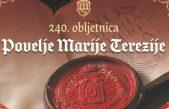 Bakar otkriva spomenik Povelji Marije Terezije