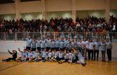 FOTO/VIDEO Senjski rukometaši slave ulazak u prvu ligu