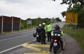 Motociklom 207 na sat kod čvora sv. Kuzam