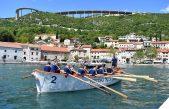 FOTO/VIDEO Bakarski festival veslanja okupio 14 posada iz pet država