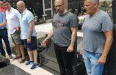 Brkić obišao grob suborca Roberta Barbića Belog