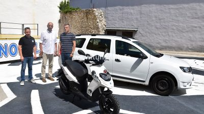 Novljansko redarstvo dobilo pojačanje: Dacia, moped i četvorica zagrebačkih redara