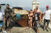 Puna baja otpada izvađena iz mora u Svetom Jurju