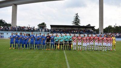 FOTO Hrvatska U-21 uveličala stoti rođendan Crikvenice