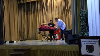 Mađioničar Luka Vidović poučavao male Senjane