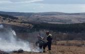 Paljenje korova izazvalo tri požara u zaleđu Senja