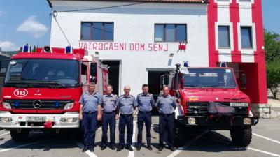 Senjski vatrogasci sirenom odali počast preminulom kolegi iz Kustošije