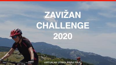 Kad nema pravog, virtualni uspon biciklom na Zavižan