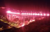 Video bakljade u Crikvenici, u čast Vukovaru, na Tuneri vidjelo 20 tisuća ljudi